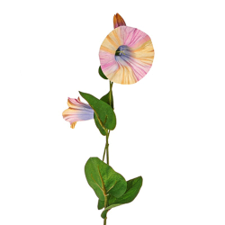 Artificial Morning Glory Bindweed Vines Rainbow Flowers - M090 J1