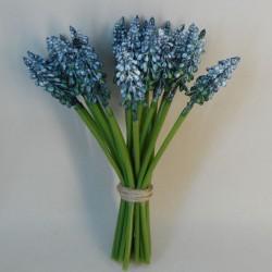Artificial Muscari | Grape Hyacinth Blue - M058 I3