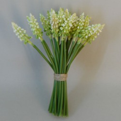 Artificial Muscari | Grape Hyacinth Cream - M057 I3