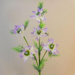 Artificial Nigella Love in the Mist Lilac - N016 EE3