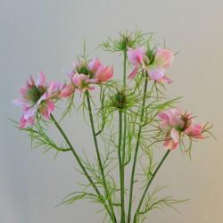Artificial Nigella Love in the Mist Pink - N015 J3