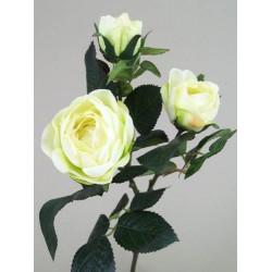Artificial Old Roses Spray Green (short) - R155 O4