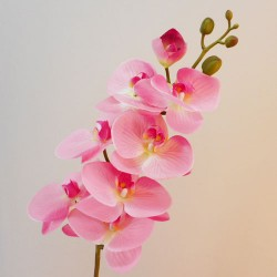Real Touch Artificial Phalaenopsis Orchid Pink 99cm - O016 J1