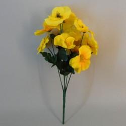 Yellow Pansies - P075 BX19