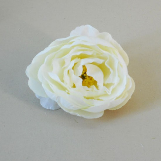 Artificial Peony Cream Heads Only Small - P246 L1