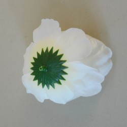 Artificial Peony Cream Heads Only Small - P246