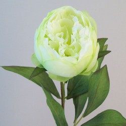 Artificial Peony Flowers Candy Crush Green - P192 J1