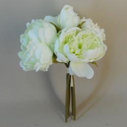 Artificial Peony Posy Pale Green - P199 J3