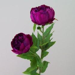 Double Peony Flowers Magenta - P145 L4