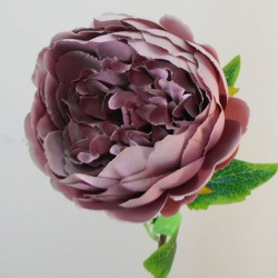 Artificial Peony Flowers Mauve Pink - P121 LL4