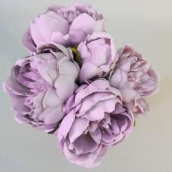 Artificial Peony Posy Amnesia Lilac - P261 O1