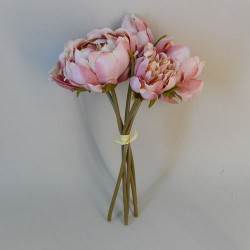 Artificial Peony Posy Blush Pink - P230