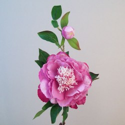 Artificial Tree Peony Flowers Mauve Pink - P179 J1