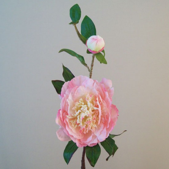 Artificial Tree Peony Flowers Pale Pink - P181 K1