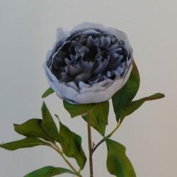 Balmoral Peony Flowers Blue Grey - P118 K3