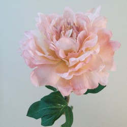 Artificial Peony Flowers Downton Soft Pink - P036 K4