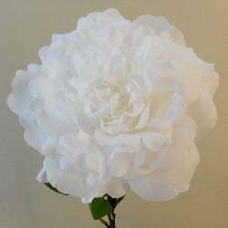 Artificial Peony Pure White - P047 J4