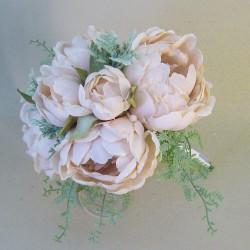Romance Peony Flowers Bouquet Nude - P187 EE2