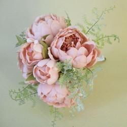 Romance Peony Flowers Bouquet Pink - P190 GG1
