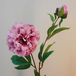 Rydal Artificial Peonies Mauve Pink - P010 AA2