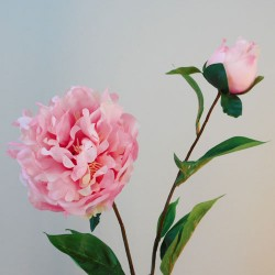 Rydal Artificial Peonies Pink - P057 AA2