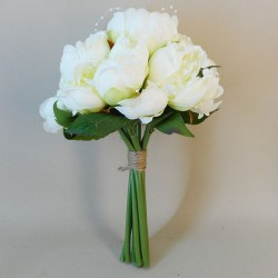 Peonies and Pearls Posy Cream - P245 M1