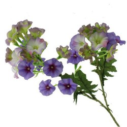 Artificial Petunias Stem Purple Flowers - P024 P4
