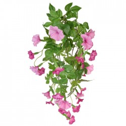 Artificial Petunia Plant Pink Trailing - P185 GG2