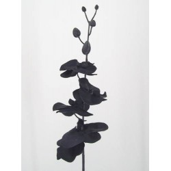 Artificial Phalaenopsis Orchid Black - J004 G1