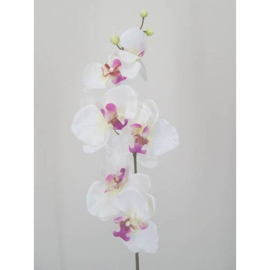 Artificial Phalaenopsis Orchids White and Pink - J003 G1