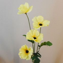Artificial Poppies Yellow - P248 L4