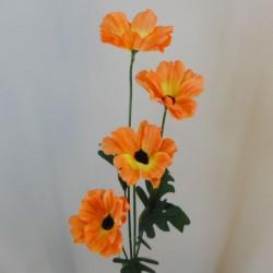 Artificial Poppies Orange - P237 L4