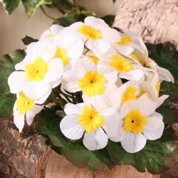 Artificial Primula Plants Cream - P027 K3