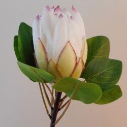 Artificial King Protea White - P273 HH4