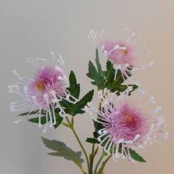 Artificial Leucospermum Protea Spray Pink - P072 J1