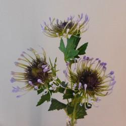 Artificial Leucospermum Protea Spray Purple - P109 P2