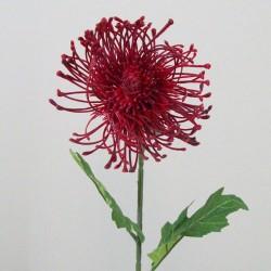 Artificial Leucospermum Protea Red - L122 H2