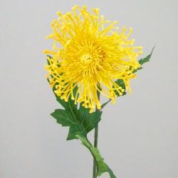 Artificial Leucospermum Protea Yellow - L123