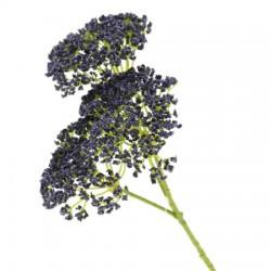 Artificial Queen Anne's Lace Flowers Blue - Q005 M2