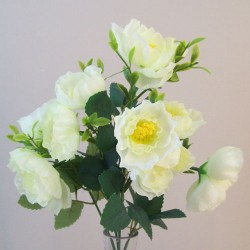 Fleur Artificial Ranunculus Bush Green - R839 M4