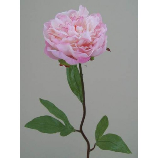 Real Touch Peony Flowers Pink - P061 K3