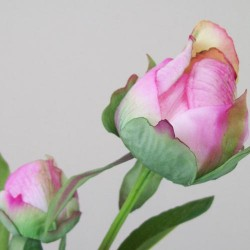 Real Touch Peony Buds Pink - P039 L1