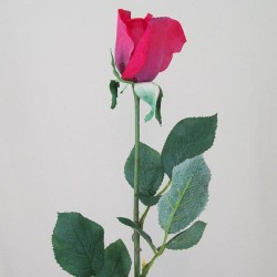 Real Touch Rose Bud Crimson Red - R073 P2