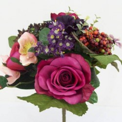 Rose and Poppy Bunch Wine - R018