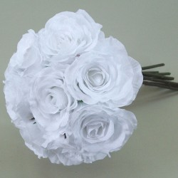 Antique Roses Bouquet White - R117 HH1