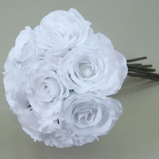 Antique Roses Bouquet White - R117 HH1