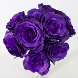Antique Roses Bouquet Purple - R237 HH1