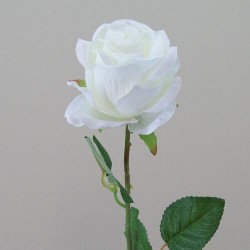 Artificial Avalanche Roses Creamy White - R466 O4
