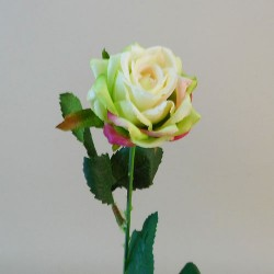 Artificial Button Roses Stem Green - R691 L2