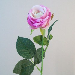 Artificial Button Roses Stem Mauve Pink - R686 O4
